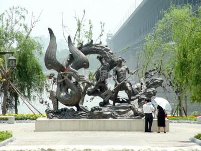 武汉江滩必威体育官方彩票三期工程
